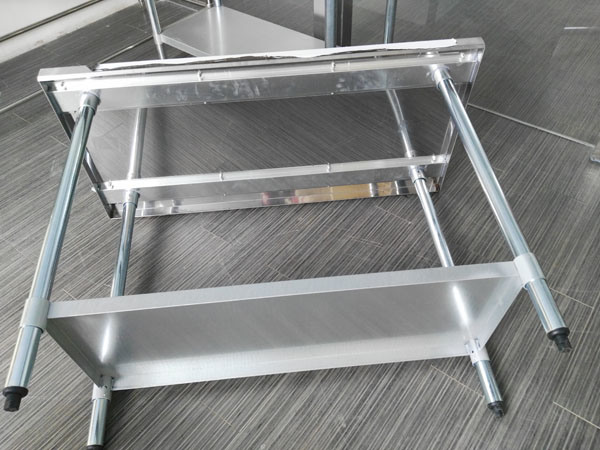 America Style Stainless Steel Restaurant Work Table