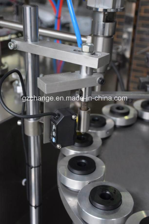 Semiautomatic Aluminum Tube Filling and Sealing Machine