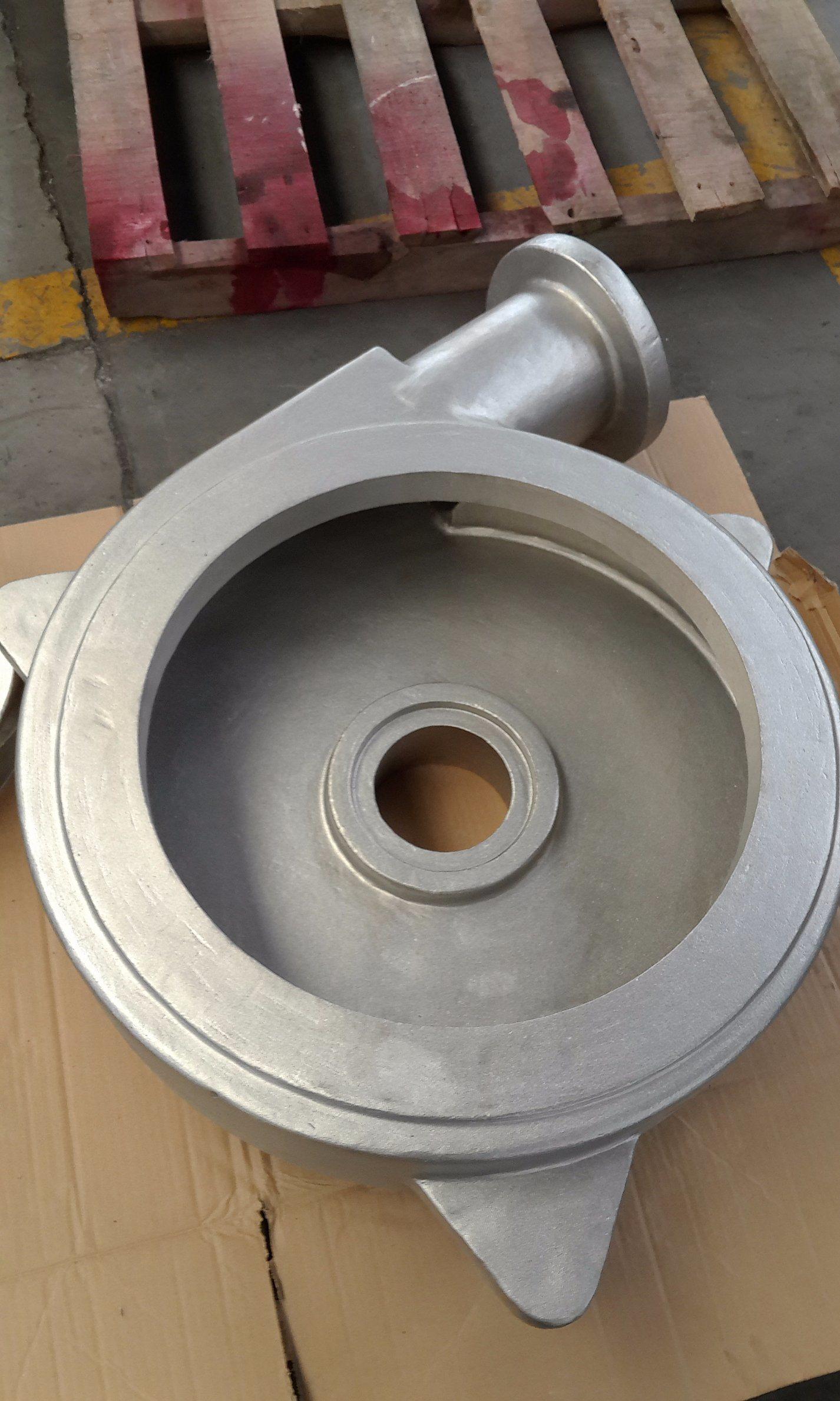 Factory OEM CNC Machining Sg450-12 Hydraulic Water Pump Housing