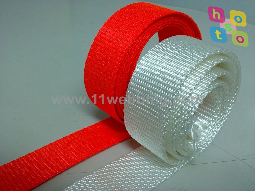 High Tenacity 25mm Flat Nylon Webbing for Bag Pet Collars