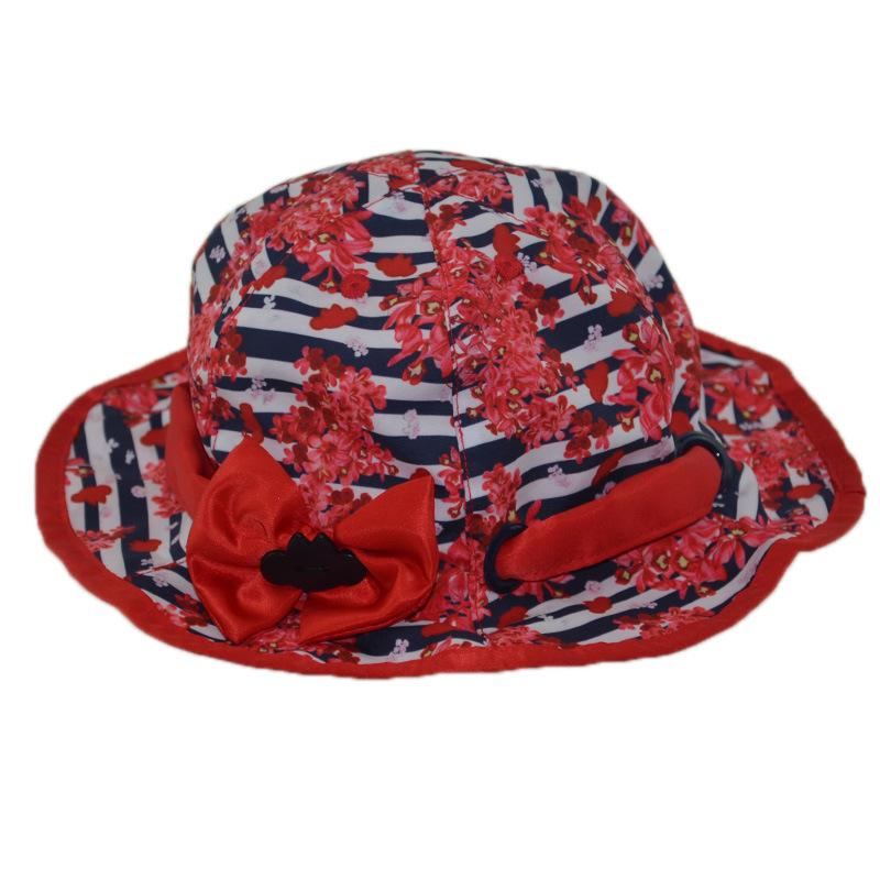 Custom Cap Floral Outdoor Bucket Hat Summer Hat Fishing Cap