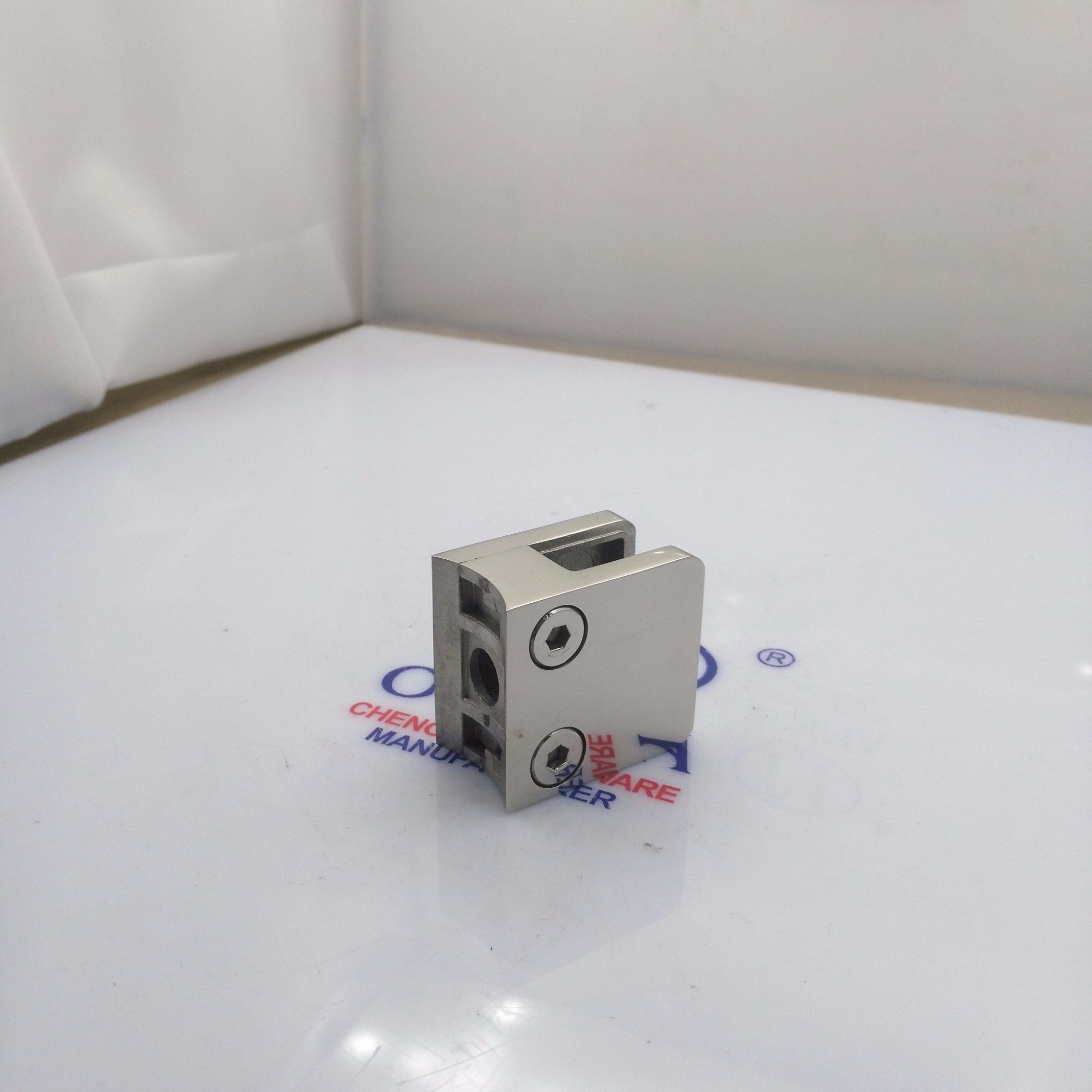 Stainless Steel Die Casting Glass Clamp for Handrail System (CR-052)