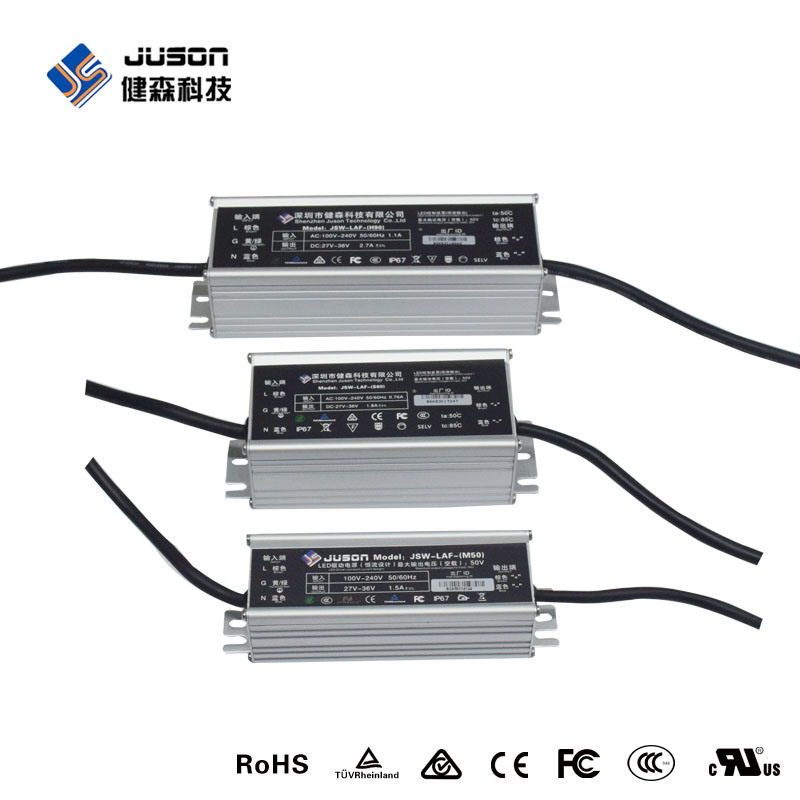 2017 Input Surge Protection IP67 300W Outdoor LED Power Supply