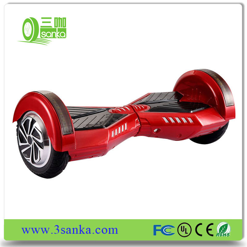 2017 Newest 8 Inch 2 Wheel Electric Balance Scooter with bluetooth