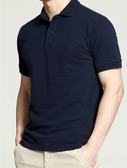 Custom Quality Cotton Man′s Pure Color Polo Shirt of Polo Neck