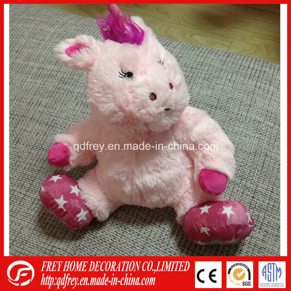 Bed Warmer Microwave Heated Plush Unicorn Toy for Baby