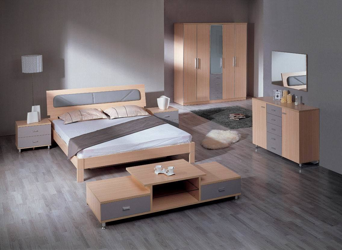 Image gallery mdf bed for Home furniture beds