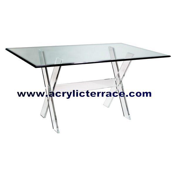 Acrylic Dining Table 5DT160011 China Acrylic Eating