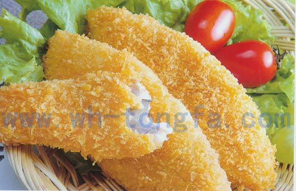 Breaded fish fillet for How to bread fish