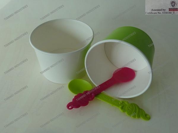 Frozen Yogurt Spoon for Children, Ice Cream Spoon