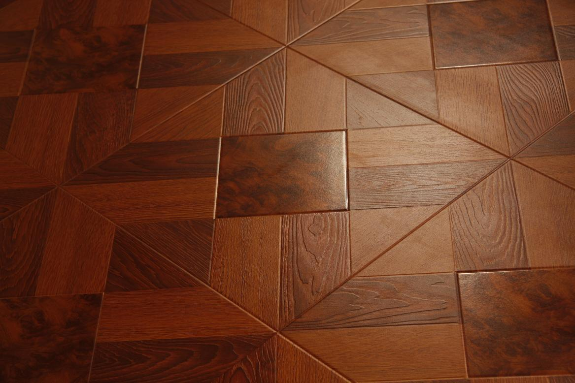 China wooden laminated flooring photos pictures made for Laminate tile squares