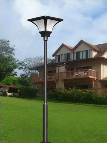 Solar garden street lamps