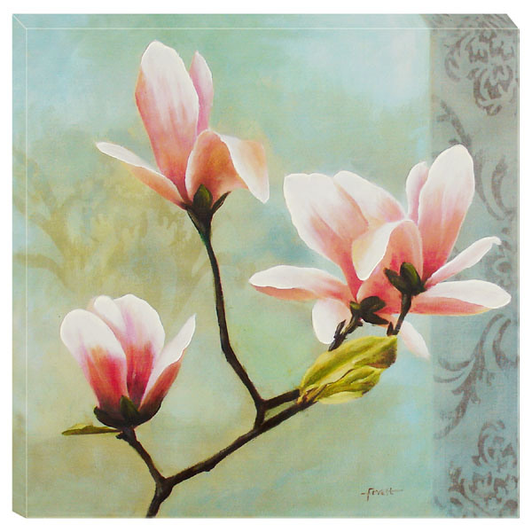 on Canvas Floral Yulan...