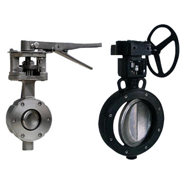 High Performance Double Offset Butterfly Valves