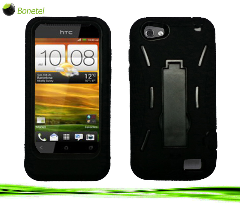 robot defender case silicone pc anti impact hybrid case