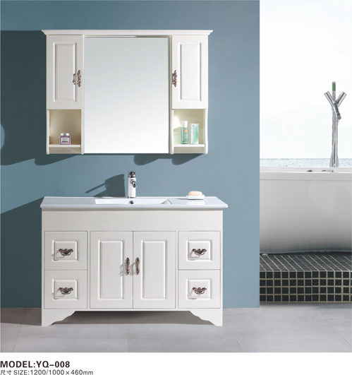 white wood bathroom vanities yq 008 china white bathroom vanities