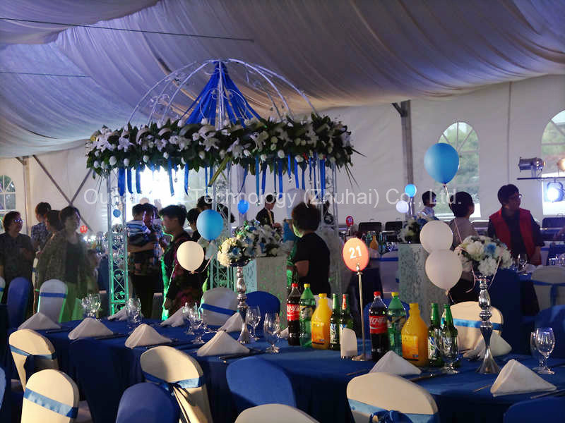 Elegant and Romantic Wedding Marquee in 15m Clear Span