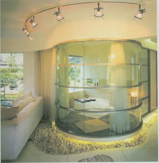 Verre de d pliement de partition int rieure verre de - Cloison de verre interieure ...