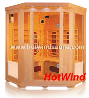 2016 Infrared Sauna Room Traditional Sauna for 3-4 People (SEK-C3C)
