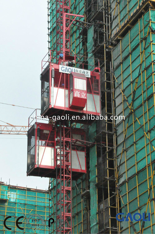 Frequency Electric Motor Construction Building Lifter/Hoist with Customizable