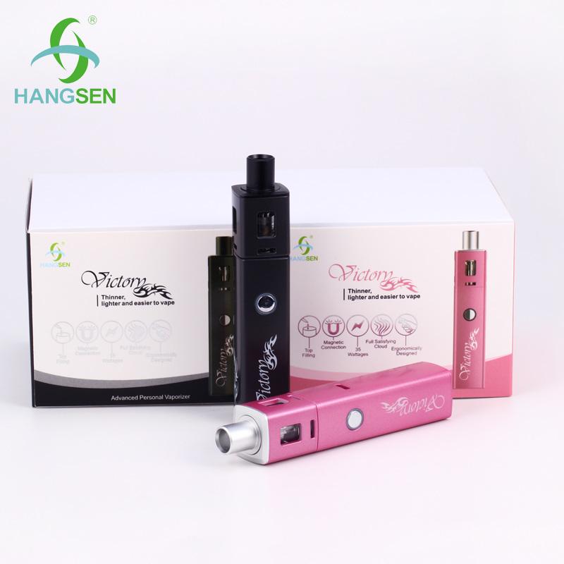 2016 Hangsen Lipstick-Like Design Portable Victory E-Cigarette Kits