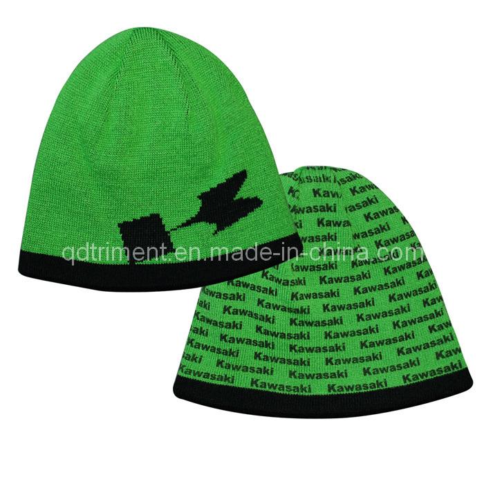 Fashion Acrylic Jacquard Ski Sport Knitted Beanie Hat (TRK041)