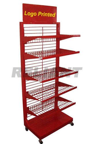 Store Fixture Rack, Store Fixtures, Metal Stand, Display Rack (RTDR18)