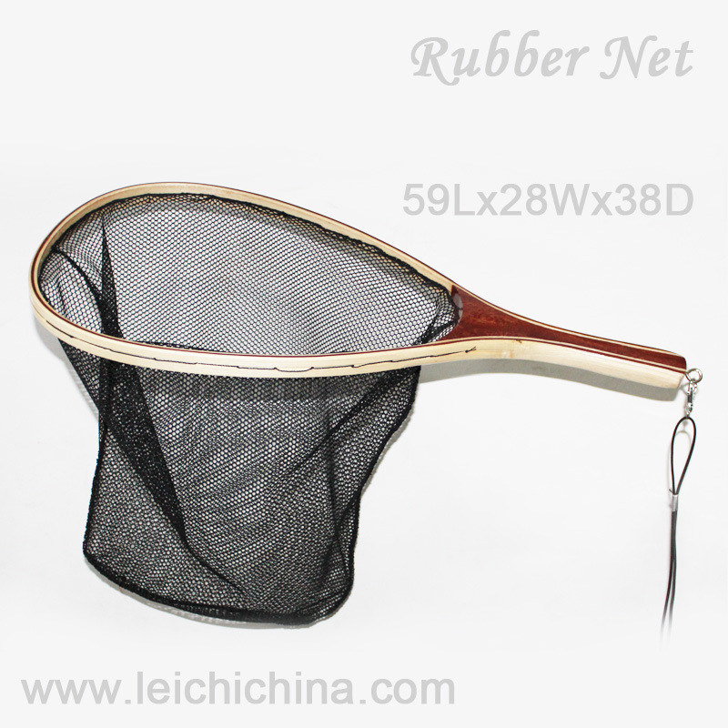 Fly Fishing Wooden Landing Net