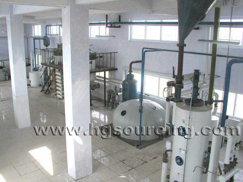 China Top Rank Vegetable Oil Refinery