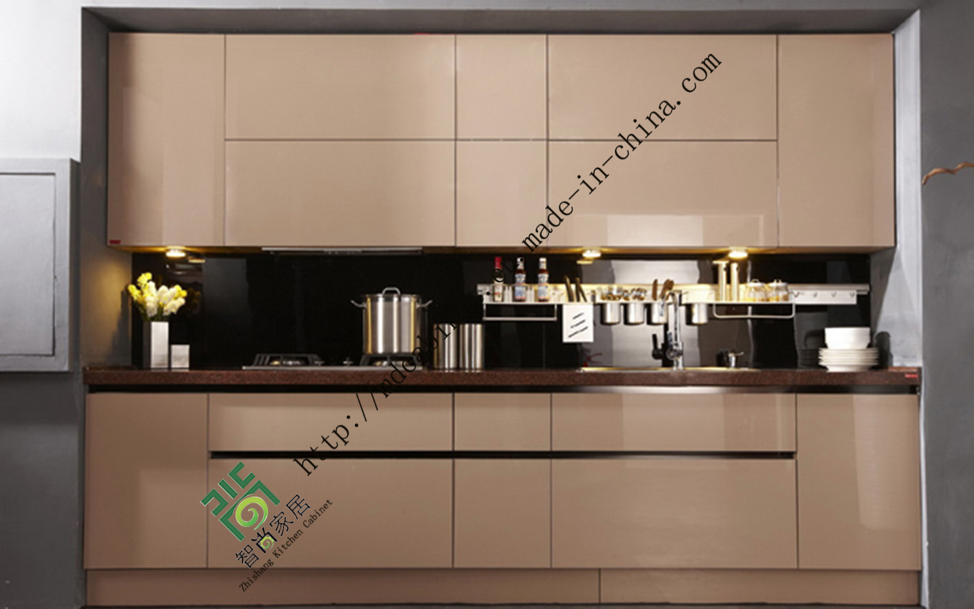 China Wholesale New Style Acrylic Kitchen Cabinets Zs 236 Photos