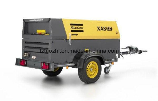 Atlas Copco 265cfm Portable Diesel Air Compressor