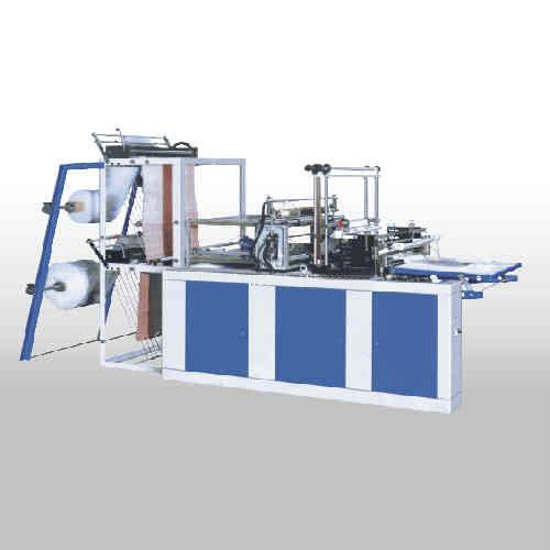 Two Lines Plastic T-Shirt Bag Making Machine (SHXJ-900)
