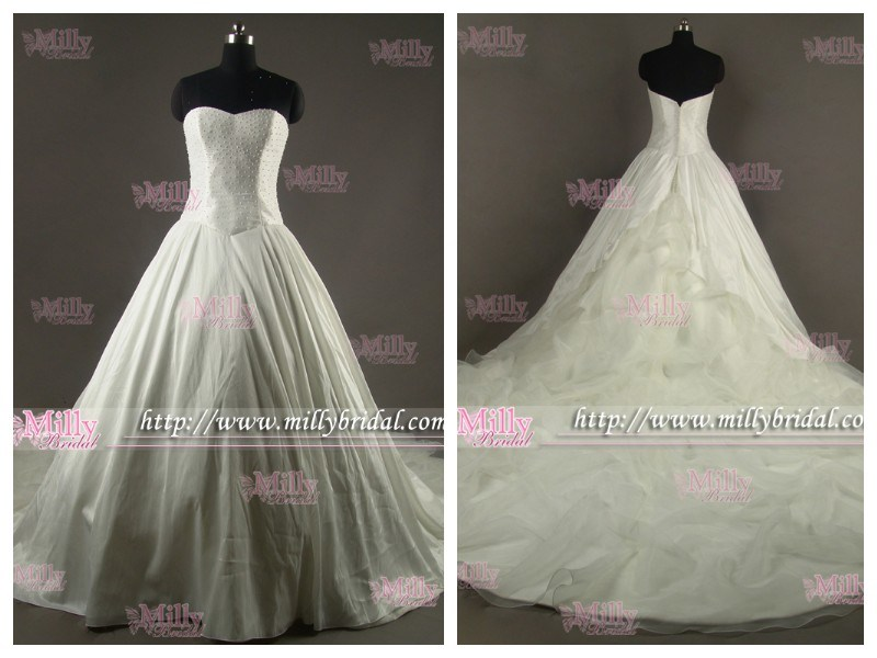 High Fashion Wedding Dress Bridal Gown WG1212