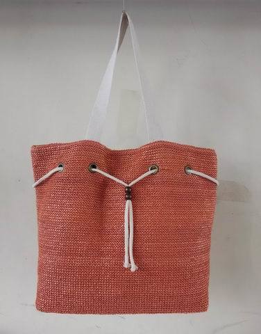 Beach Bag, Fashionable Straw Bag with String Design