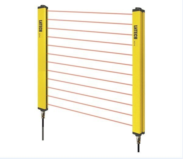 Safety Light Curtain Barrier Fencing Sensor With Pnp Npn
