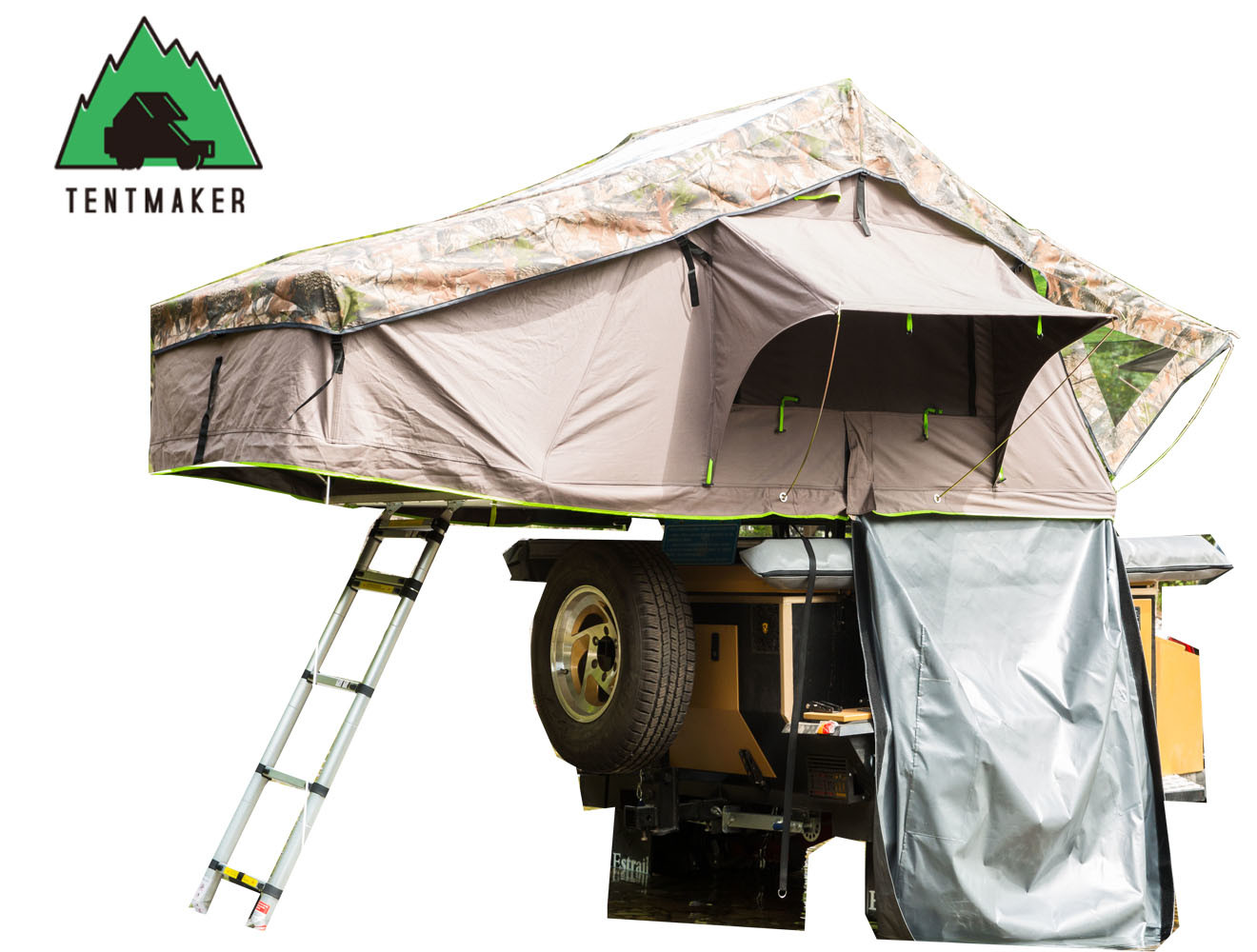 2017 Top Seller Car Roof Top Tent with Side Awnings and Annex for Outdoor Camping