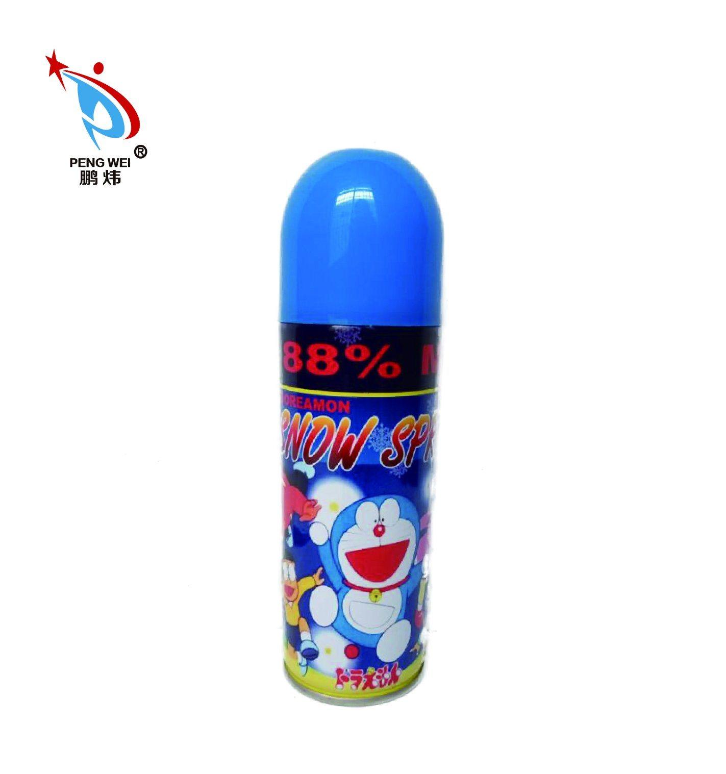 250ml Popular Doraemon Aerosol Canned Snow Spray