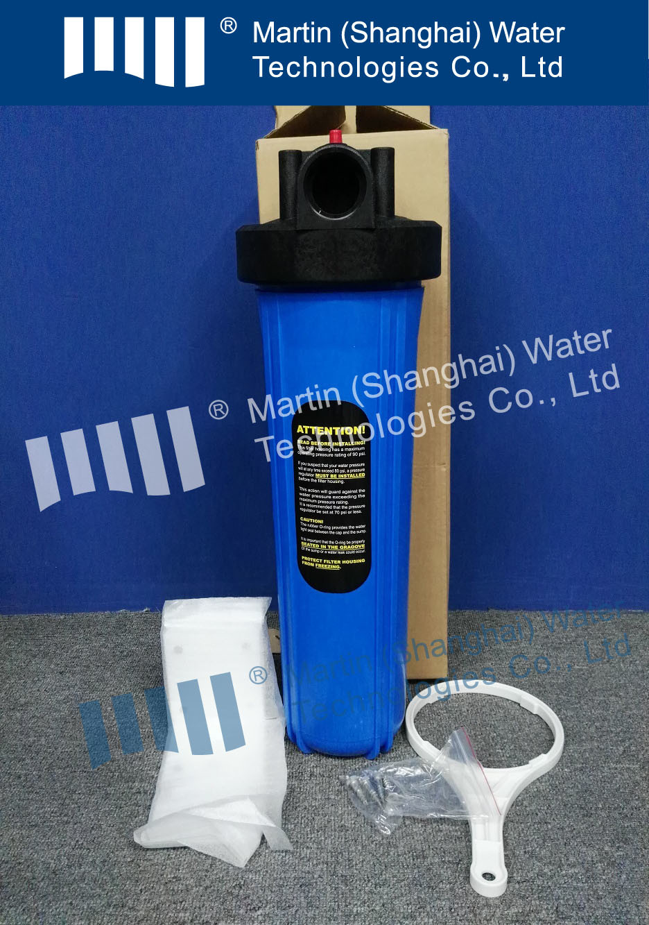 4.5in Big Blue Cartridge Filter Housing Water Treatment Parts