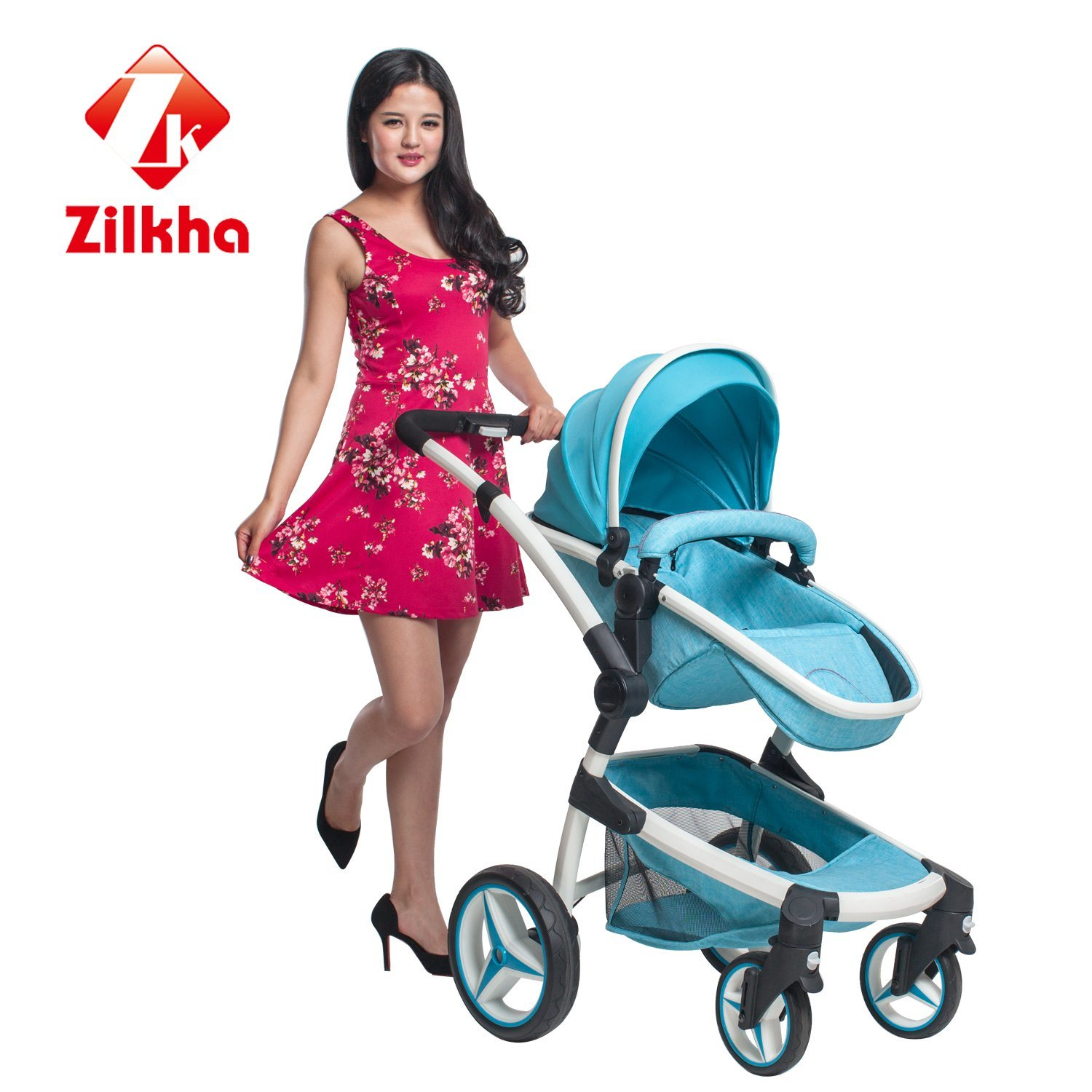 Stylish, Safe Baby Car-Car with Frame and 3 in 1