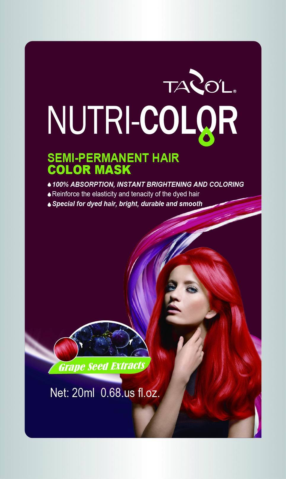 2016 Healthy Semi-Permanent Hair Color Mask