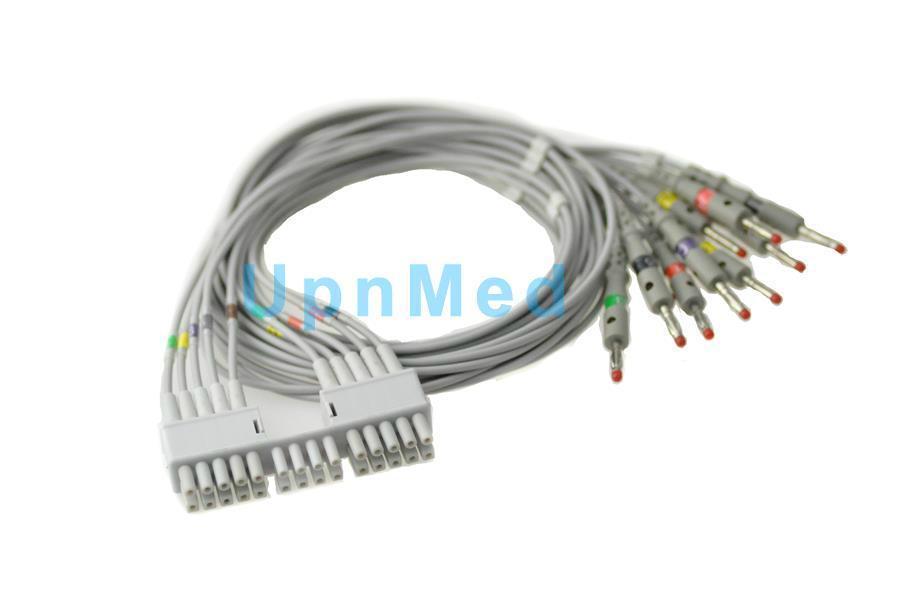 Mortara Eli230, Eli100, Eli200 10lead EKG Leadwires