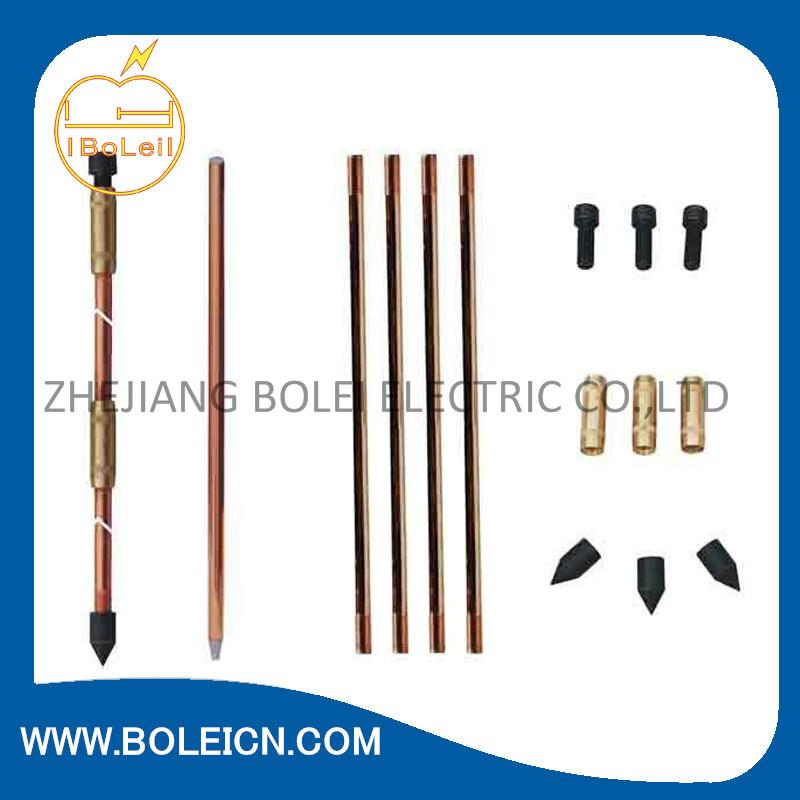 Copper Bonded Earthing Rod for Lightning Protection System