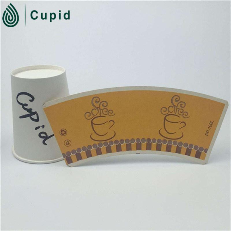 Hztl (BRC, FSC, ISO, FDA, SGS) Take Away Carton Paper Coffee Cup/7oz Single Wall Paper