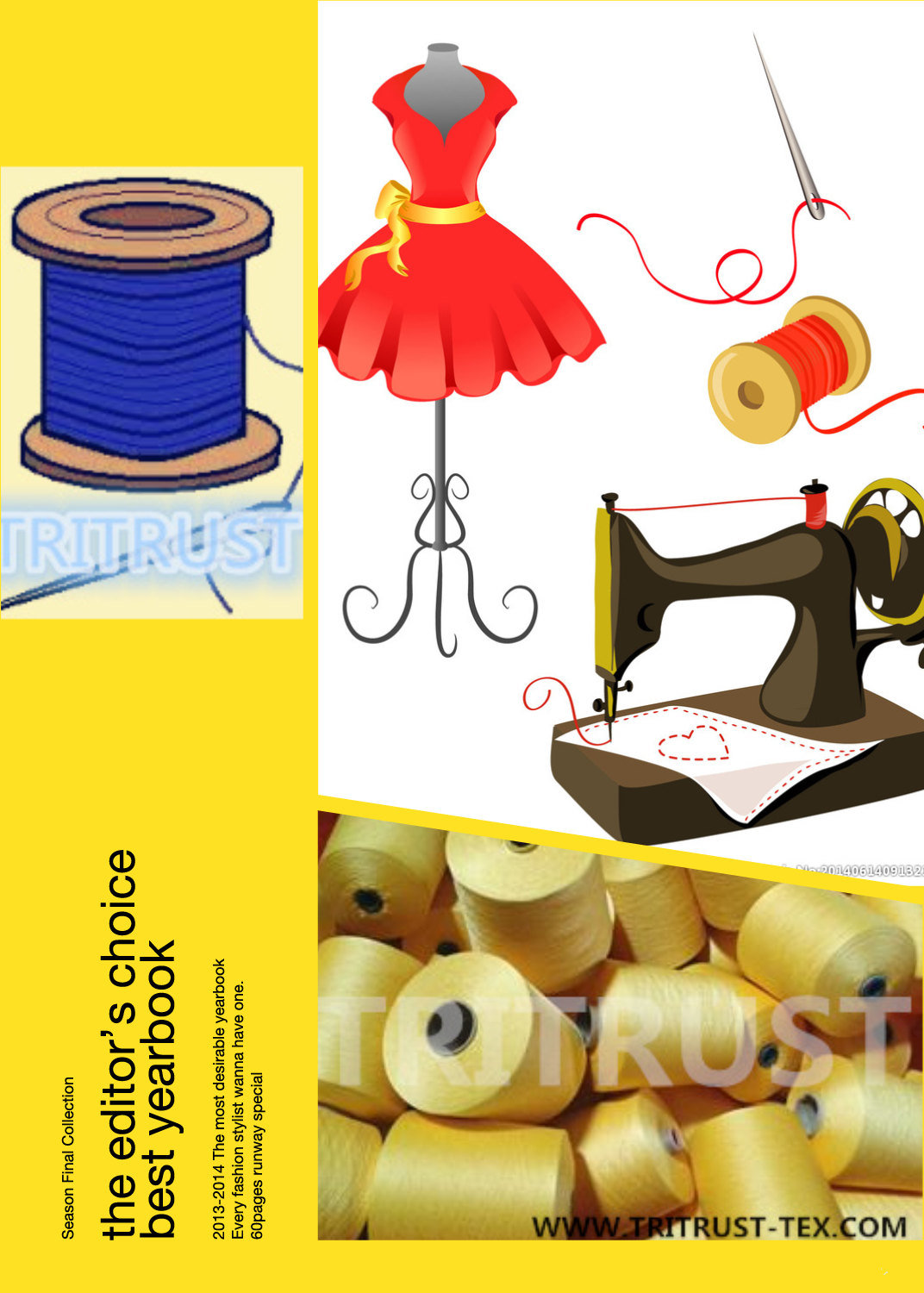 Polyester Sewing Thread (all color with all counts)