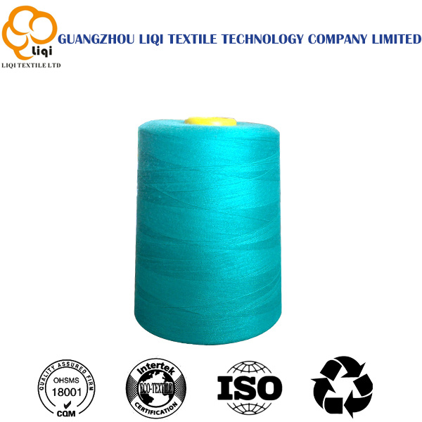 Low Shrinkage High Tenacity Polyester Spun Yarn for Sewing Usage