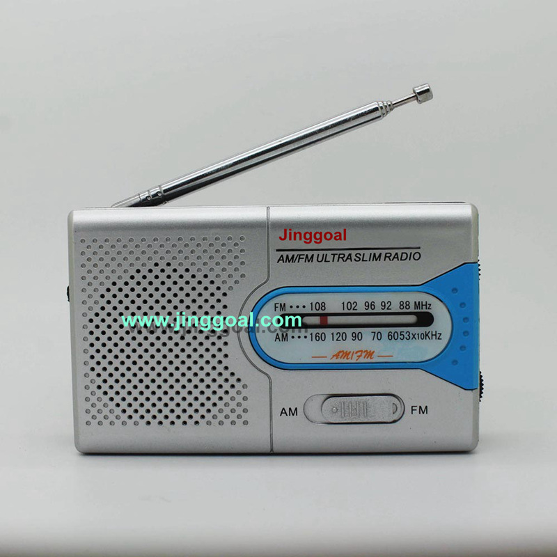 Pocket Am/FM 2 Band Radio