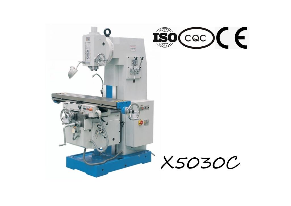 X5030c Vertical Knee-Type Milling Machine