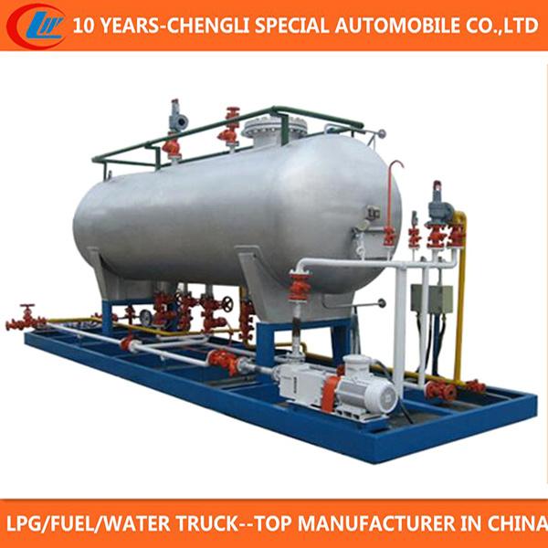50000 Liters LPG Cylinder Filling Station 50m3 LPG Skid Station for Sale