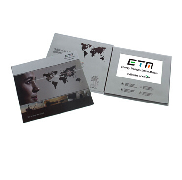 Factory Supply Customized LCD Video Greeting Card