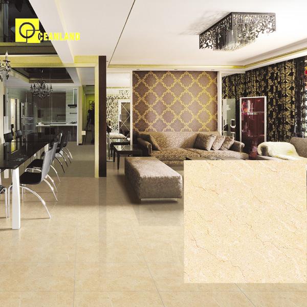 China Low Price Crema Marfil Ceramic Floor Tile For
